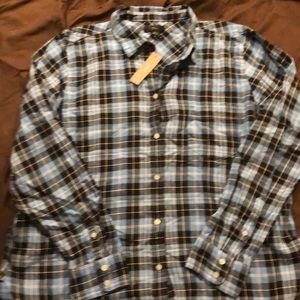 NWT J CREW PLAID BUTTON UP SHIRT